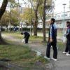 甲子園高校野球東海大相模準決勝進出!早朝宿泊近くの公園のゴミ拾い